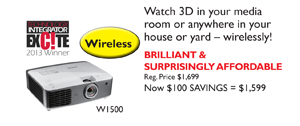 W1500 Home Theater Projector