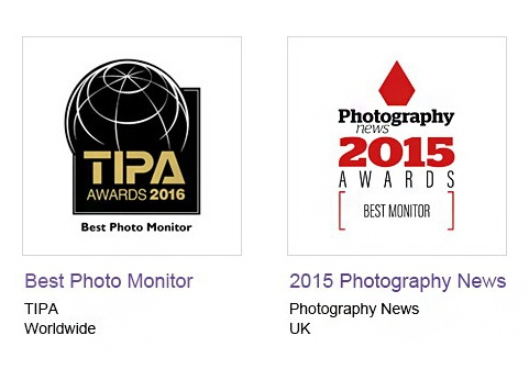 BenQ Best Photo Monitor TIPA Awards