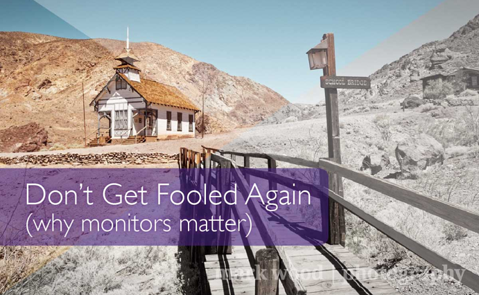 Don't get fooled again. (why monitors matter) by Mark Wood
