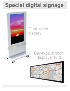 Specialty Digital Signage